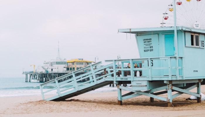 pláž plavčík usa