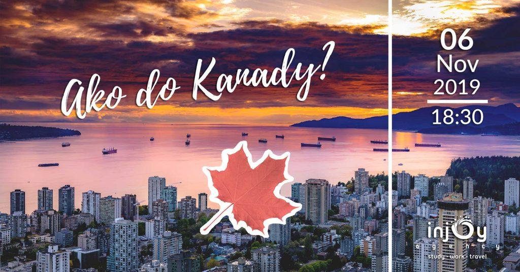 Event ako do Kanady