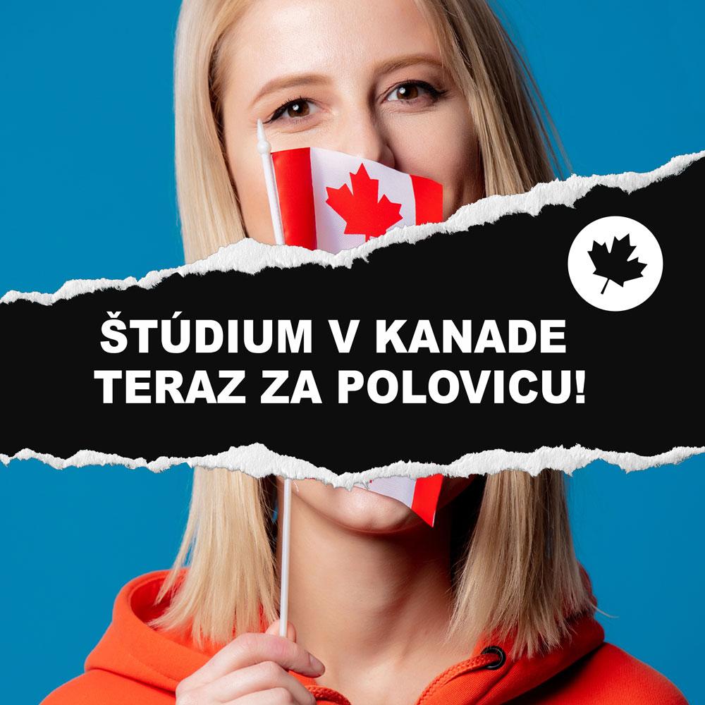 zľava na štúdium v Kanade